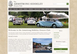 The Armstrong Siddeley Owners Club website