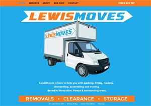 LewisMoves mobile website
