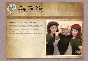 Sing The War website thumb