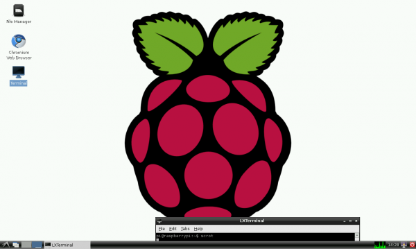 Playing with a Raspberry Pi, and installing Chromium Browser